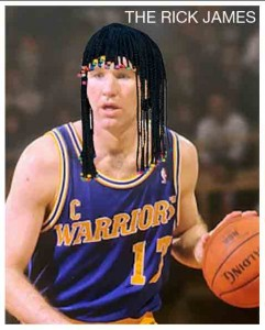 Chris Mullin Hairstyles That Never Were - The Rick James