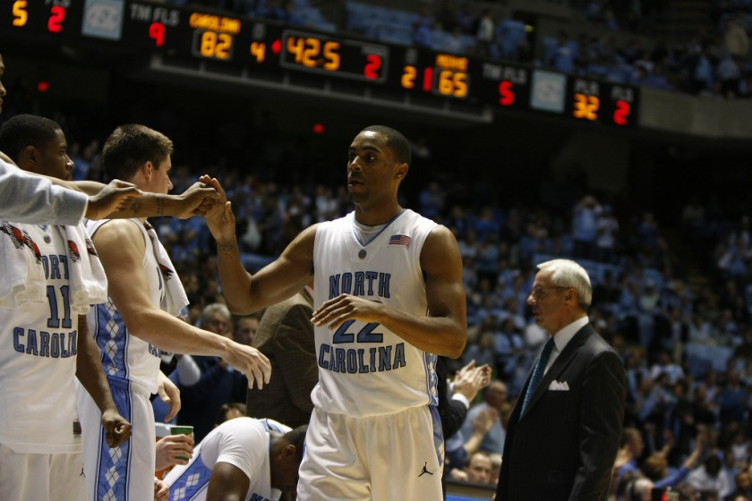 Wayne Ellington UNC NCAA Tournament