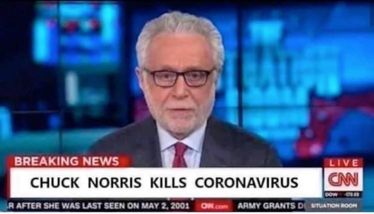 chuck norris kills coronavirus