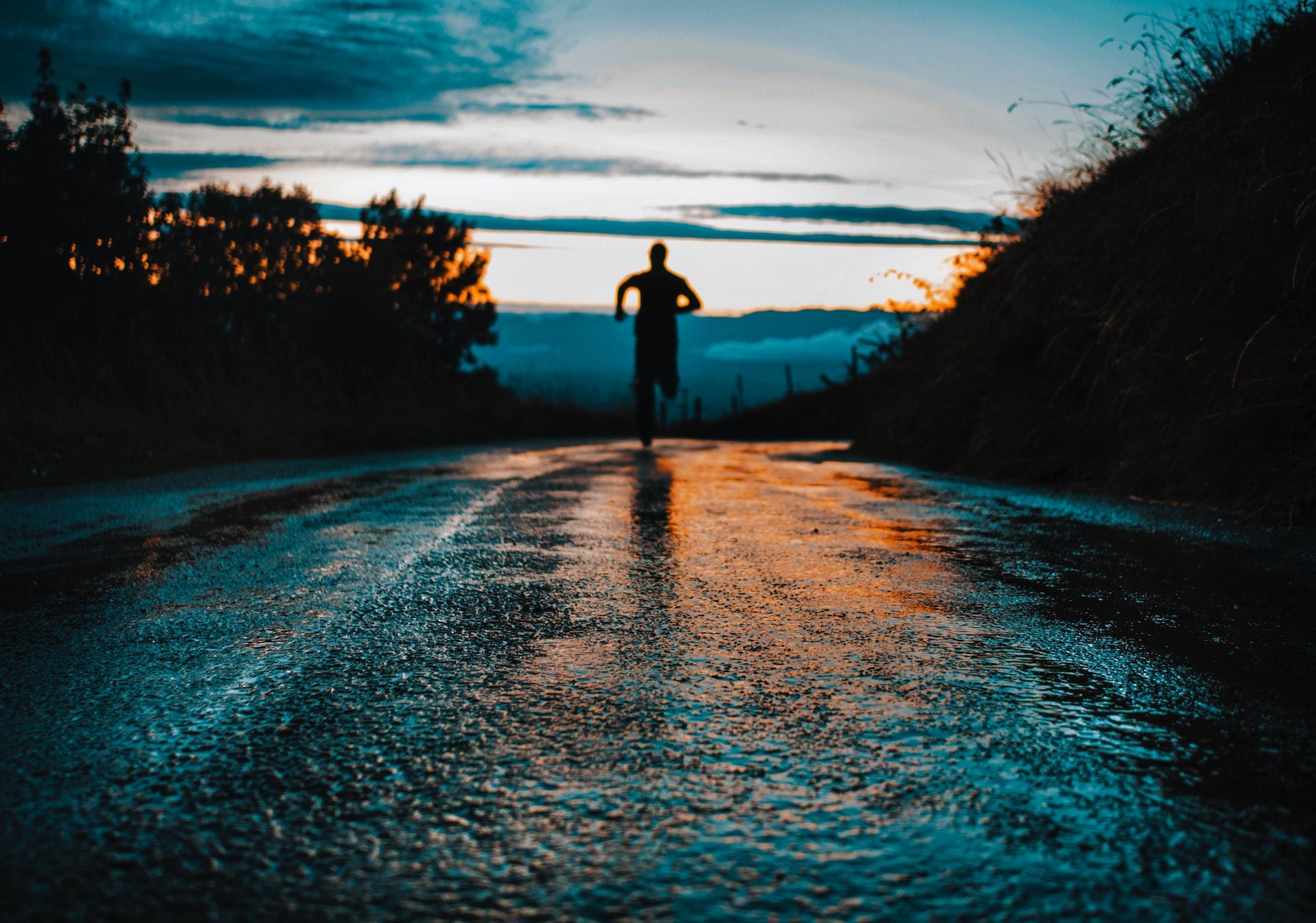 run rain or shine no excuses